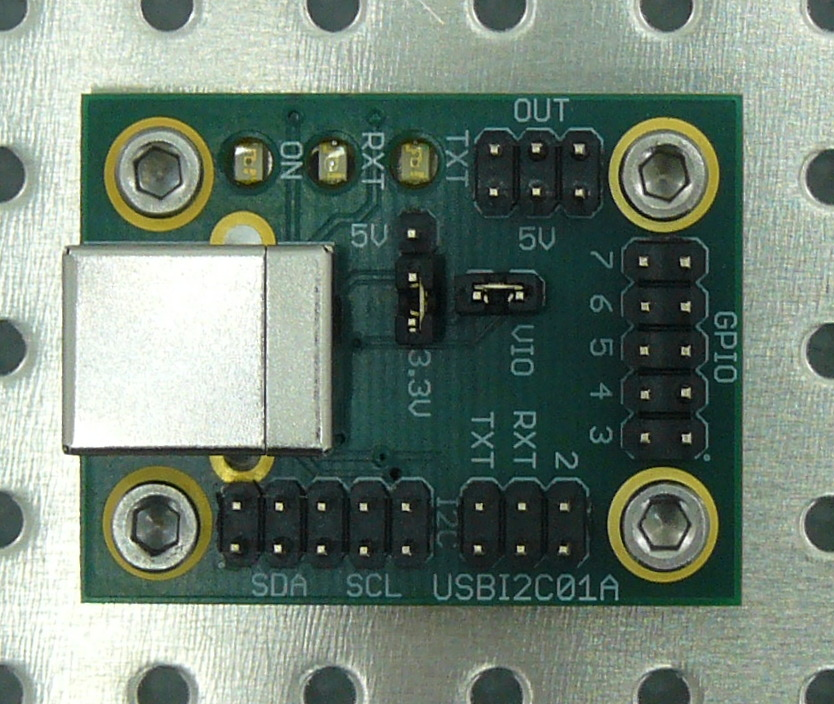 Converter from USB to I²C or SMBus - USBI2C01A []